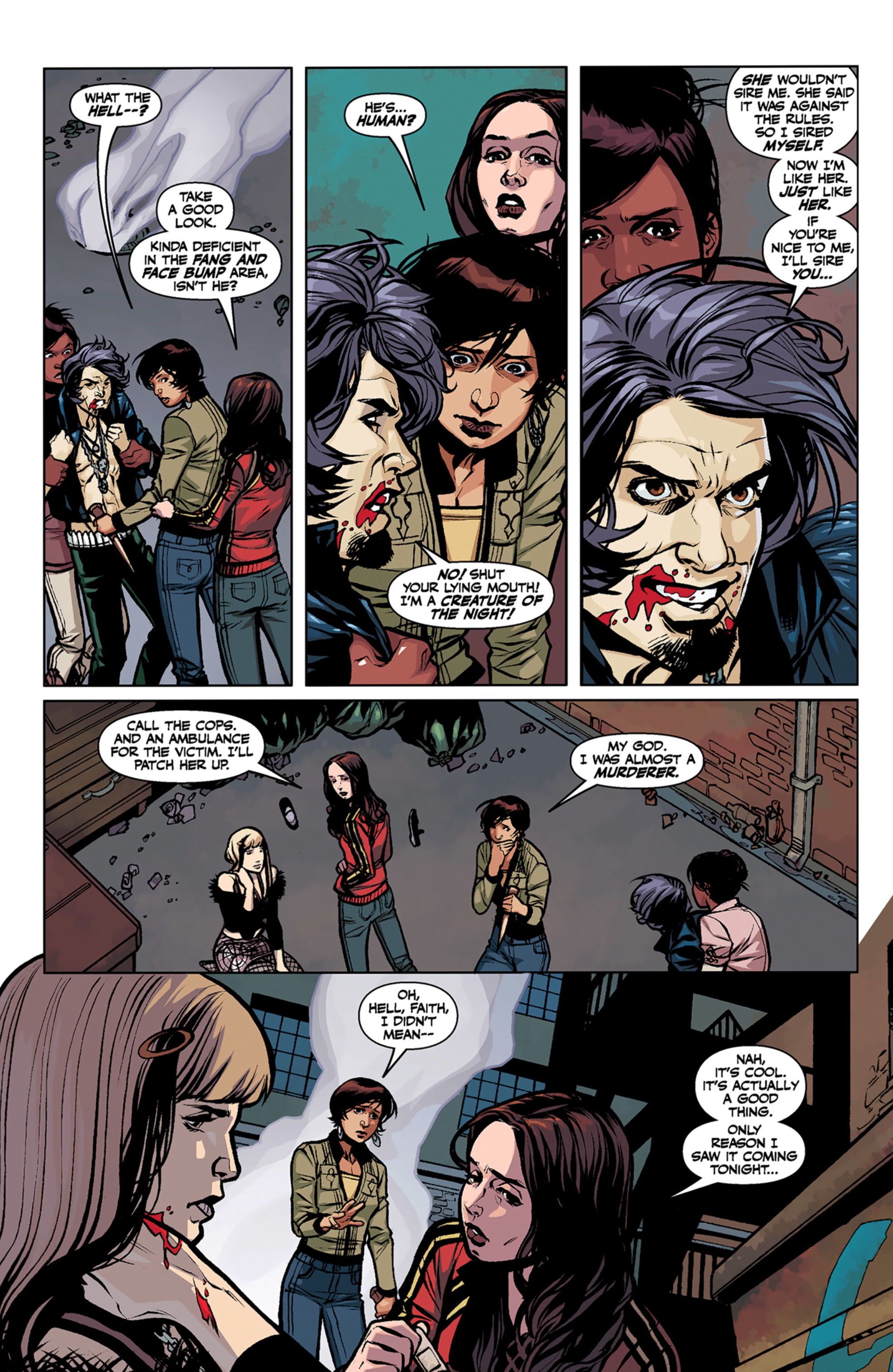 Read online Angel and Faith comic -  Issue #6 - 16