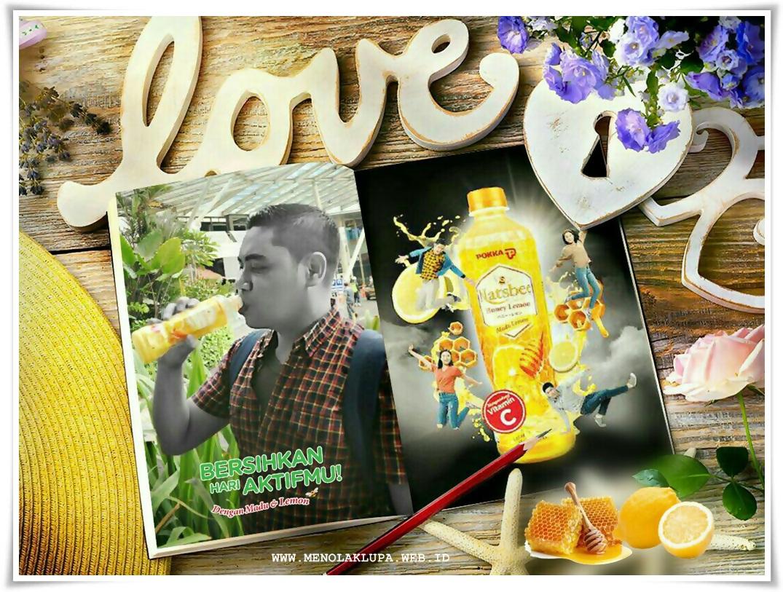 Natsbee Honey Lemon Bersihkan hari aktimu jadi Asik Tanpa Toxic