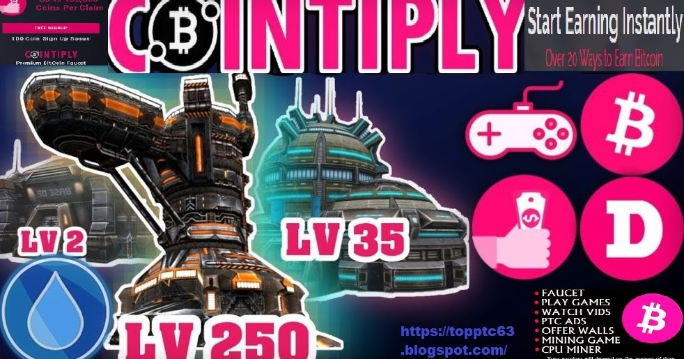 Cointiply mining game | Free online earning Bitcoin Faucet and PTC sites