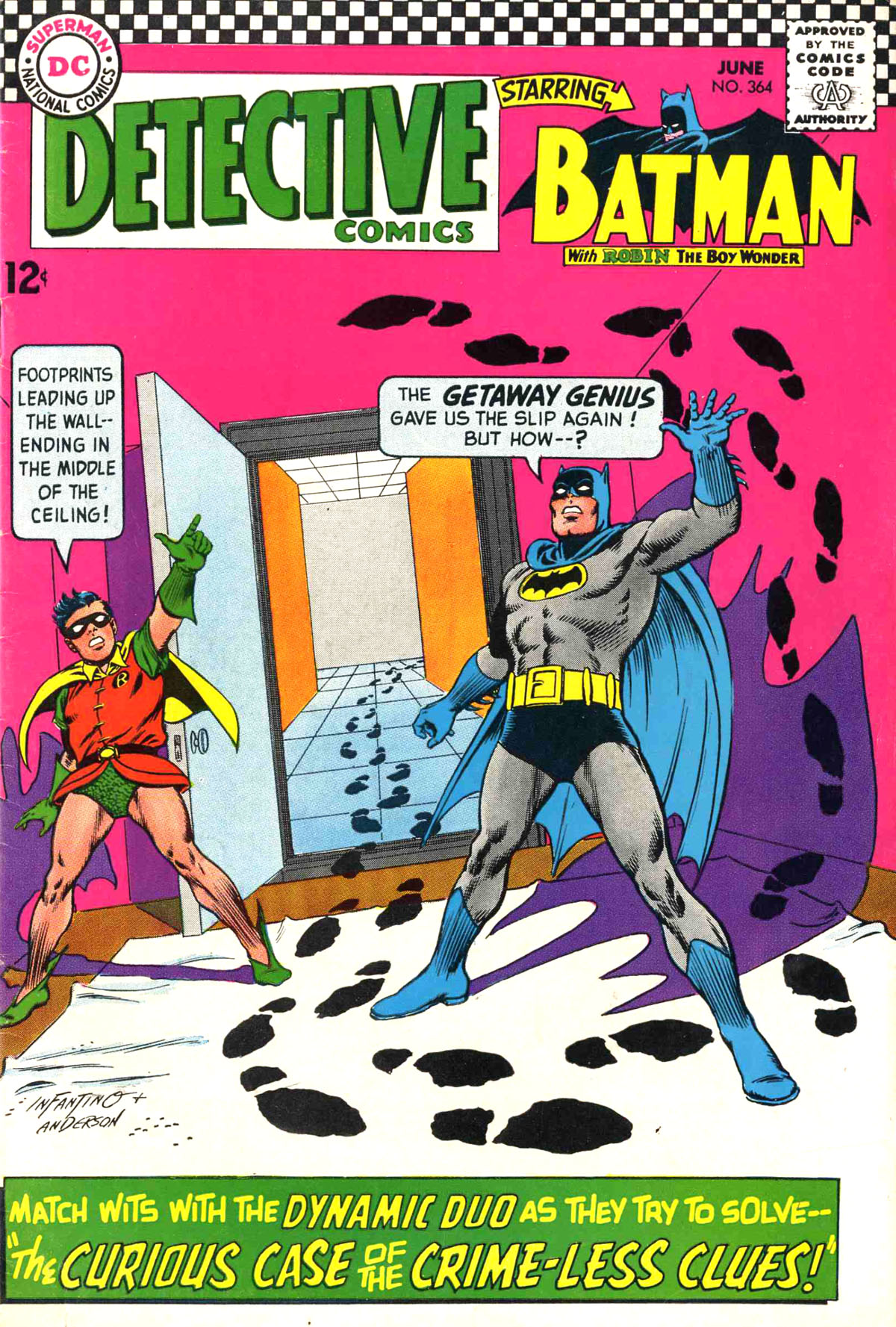 Detective Comics (1937) 364 Page 0