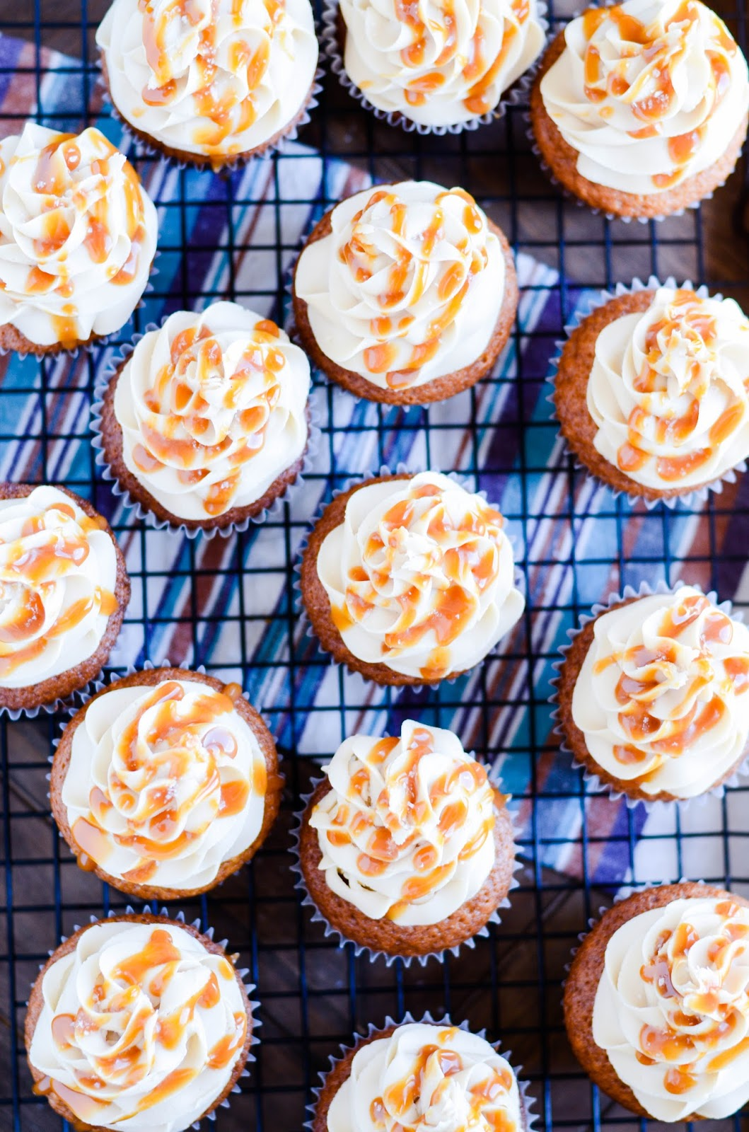 http://www.somethingswanky.com/apple-cider-cupcakes-salted-caramel/