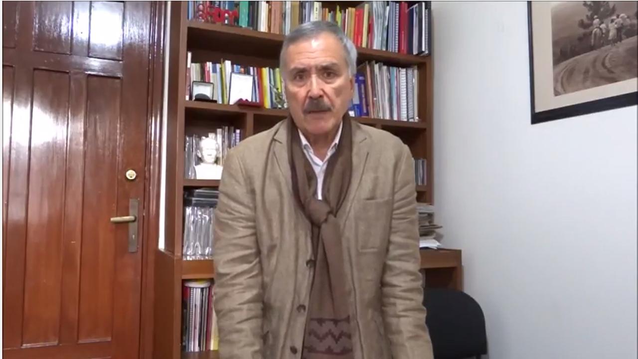 Invitación Jaime Caycedo al Congreso Nacional de Paz