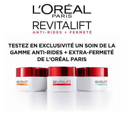 Testeur de produit : 200 produits de la gamme Revitalift L'Oréal Paris !
