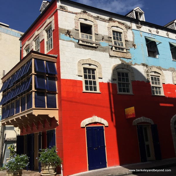 colorful building in Bridgetown, Barbados