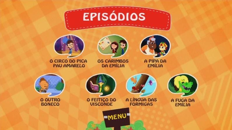 CLICK AQUI  Sítio Do Picapau Amarelo Vol.4 DVD-R 2