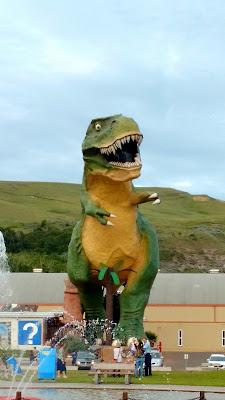 World's Biggest Dinosaur, Drumheller, Alberta