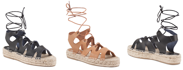 Marypaz Gilly Leather Espadrilles $22 (reg $50)