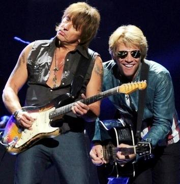 Foto de Bon Jovi en el escenario