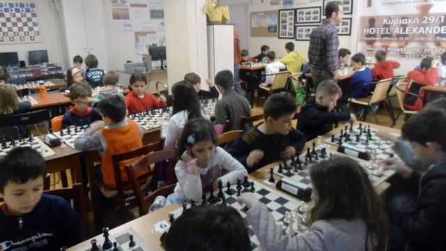 Ολοκληρώθηκαν με επιτυχία οι εκπαιδευτικοί αγώνες Σκάκι για μαθητές της Αλεξανδρούπολης