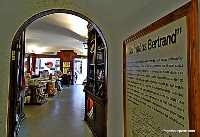 Livraria Bertrand, Chiado, Lisboa, Portugal