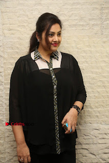 Tamil Actress Meena Latest Stills in Black Dress at TSR TV9 Awards Press Meet  0022.JPG