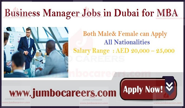 UAE jobs with salary, Recent job vacancies in Dubai,