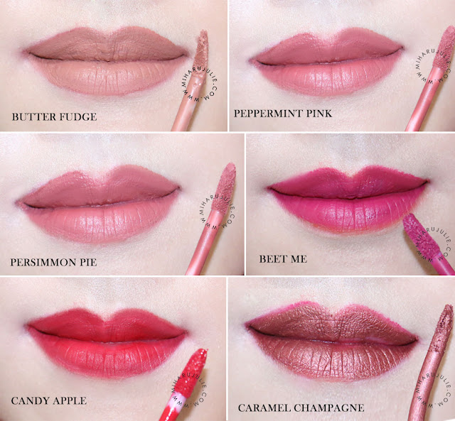 swatch blp beauty lip coat