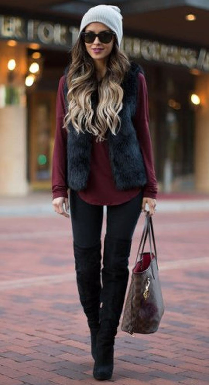 Ways To Wear Thigh High Boots This Winter