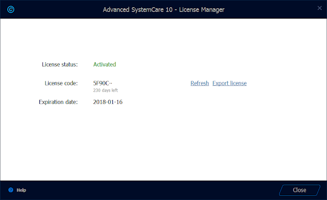 Advanced SystemCare 10.5 PRO Serial Key
