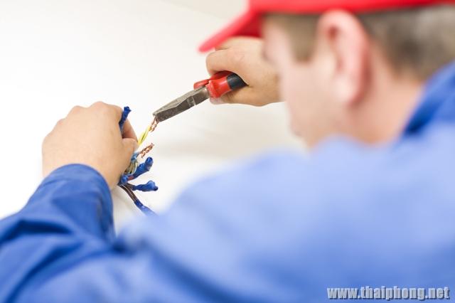 Sửa điện chập cháy, bị mất điện, cháy dây hoặc thiết bị