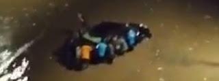 Inundaciones extremas en tan solo 2 horas en ghana.