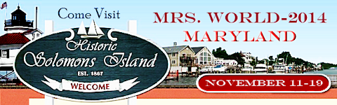 Mrs. World 2014 to be hosted in Solomons Island Maryland!