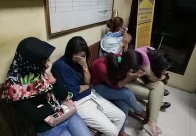 Tempat hiburan malam di Lhokseumawe digrebek, 7 orang diamankan