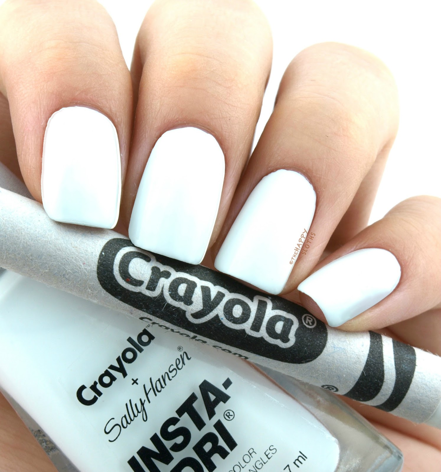 Sally Hansen + Crayola Collection | 509 White: Review and Swatches