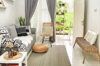 hias ruang tamu kecil | desainrumahid