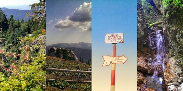 Traseu în Masivul Piatra Mare: Timișu de Sus, Cascada și Canionul Tamina, Vârful Piatra Mare