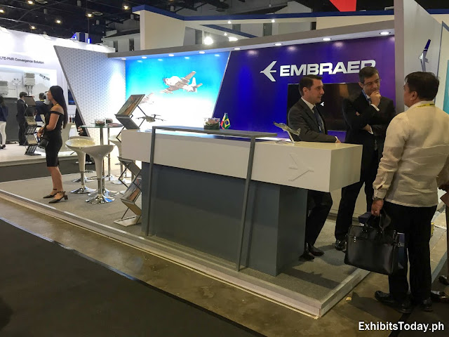 Embraer Exhibit Booth Booth