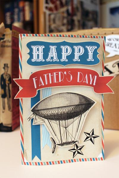 Bondville: Printables: Free printable vintage Father's Day card