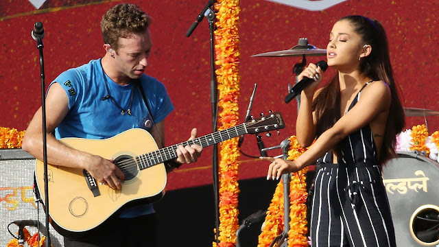 Video: Ariana Grande y Coldplay - Just a Little Bit of Your Heart