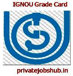 IGNOU Grade Card