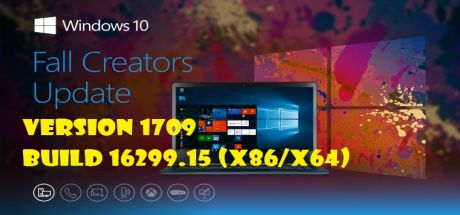 Windows 10 Fall Creators Update, Version 1709 Build 16299.15