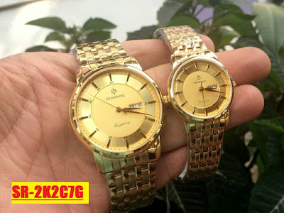 Đồng hồ đeo tay cặp đôi Sunrice SR 2K2C7G