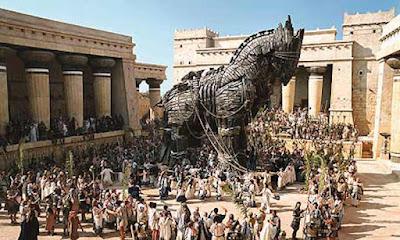Kerajaan Mycena dan Perang Troya