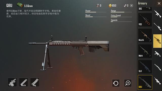QBU Sniper Riffle