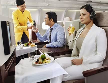 Airline Review Jet Airways Hong Kong-Mumbai-Amsterdam