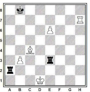 Posición de la partida Papp - Kosztka (Budapest, 1998)