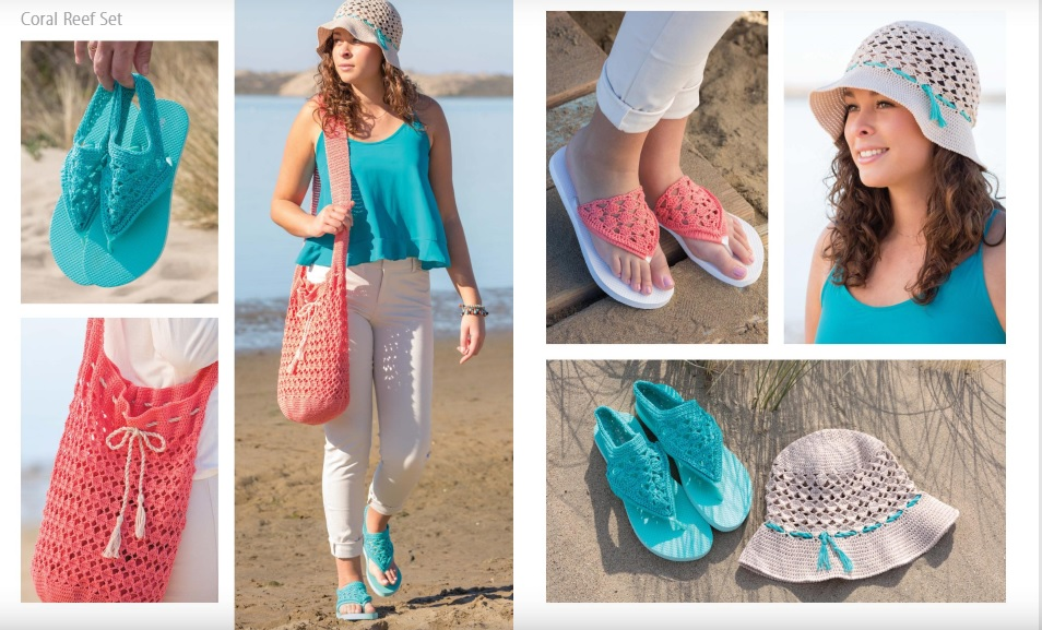 Coral Reef Crochet Pattern Set