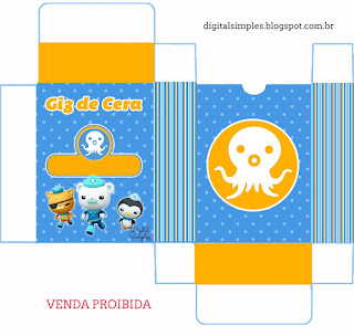 The Octonauts Free Printable Box.