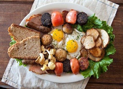 традиционный ирландский завтрак