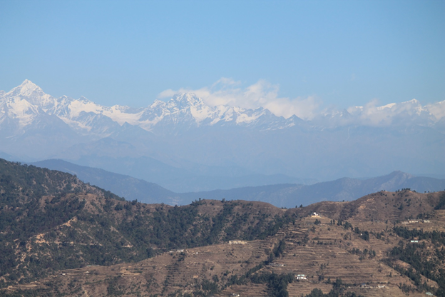 Himalayan's mountains From Dhanolti