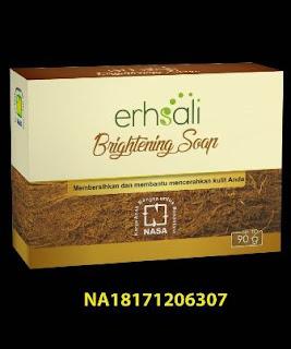 ERHSALI CHARCOAL SOAP-Menjaga Kebersihan Kulit