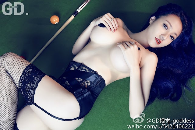 Song Guo Er 松果儿cc Busty Chinese Girl Nude