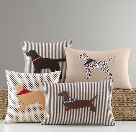 pillows of a girl s best friend driven by decor