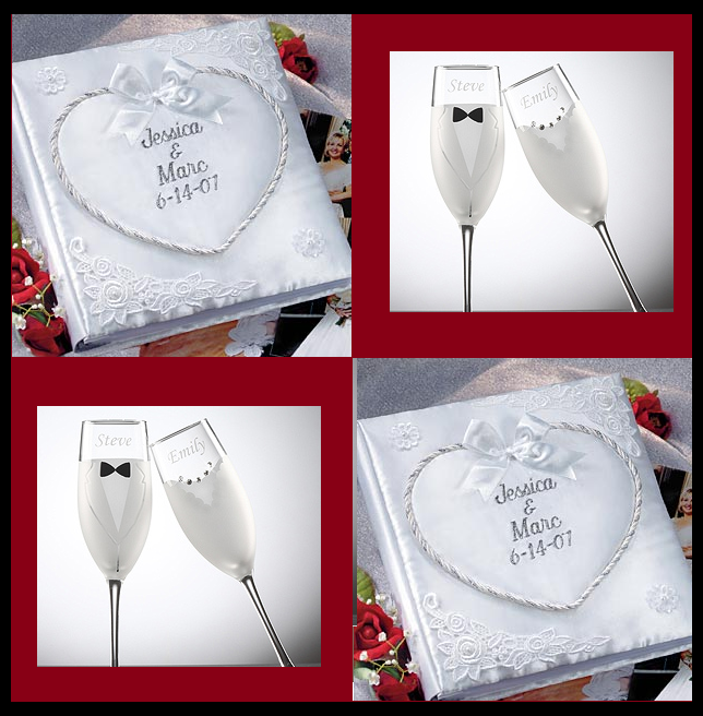 Monogramed Wedding Gifts: Wedding Decor: Personalized Wedding Gifts