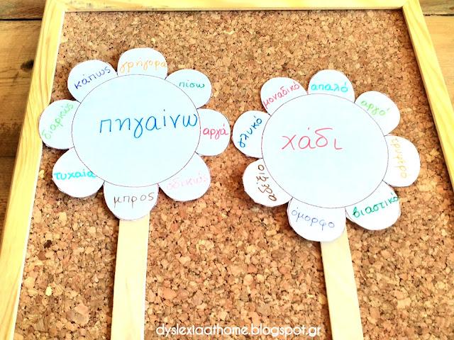 Το λουλούδι της γραμματικής! Εργαλείο Γραμματικής για την Δυσλεξία