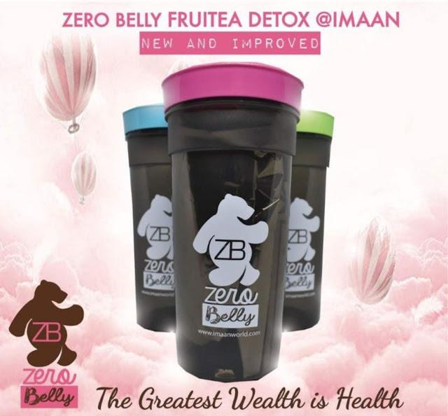 Tea Zero Belly Fruitea Detox | Membantu Mengatasi Masalah Perut Buncit dan Sembelit