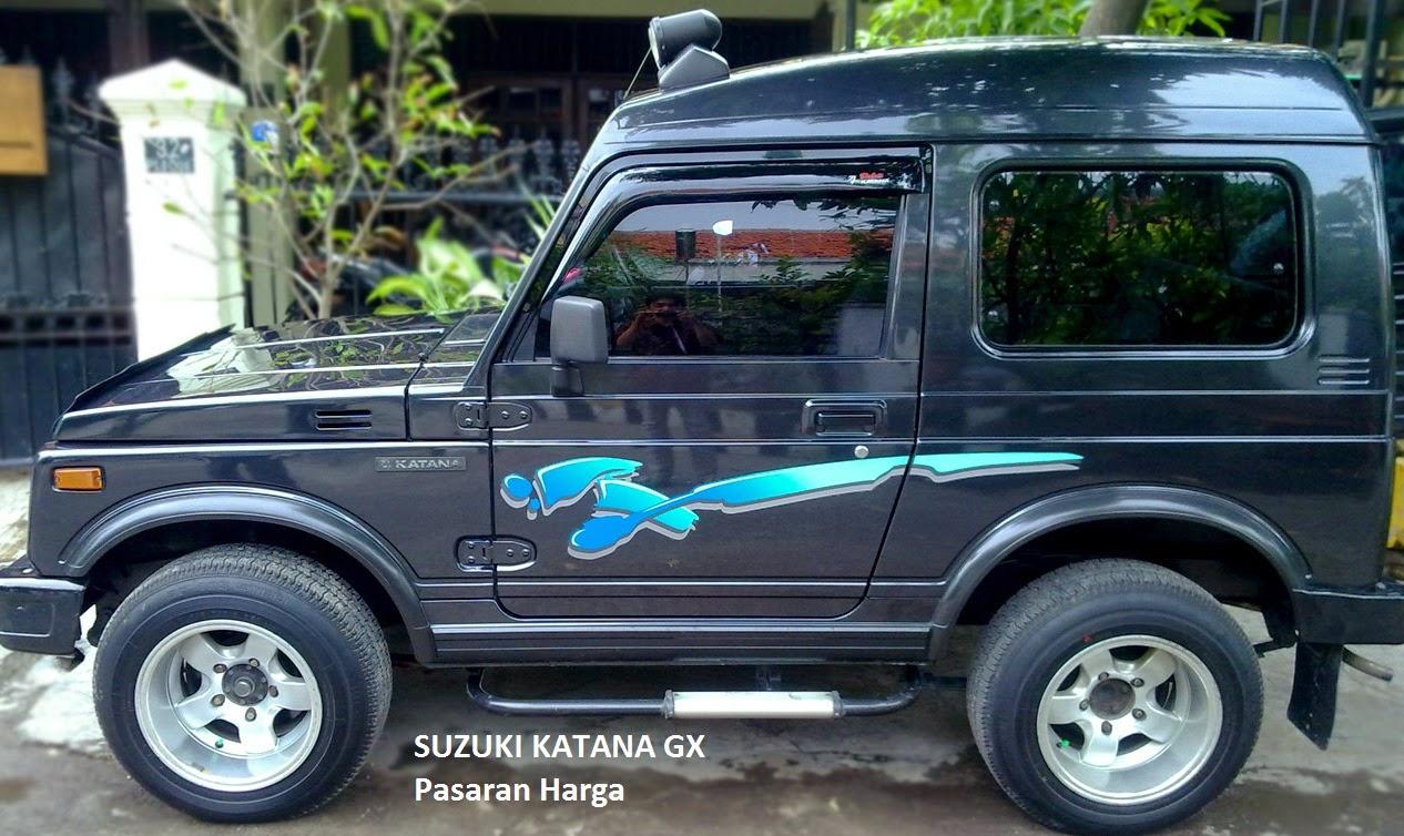 Harga Mobil Suzuki Katana GX Bekas Bulan April Tahun 2017