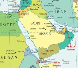 Arabia Saudí Yemen Irán conjugandoadjetivos