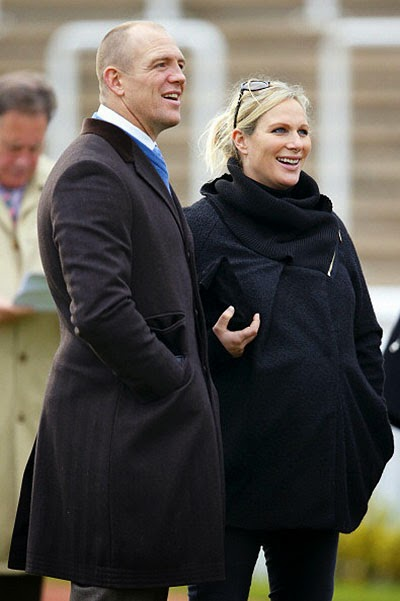 Zara Phillips and Mike Tindell