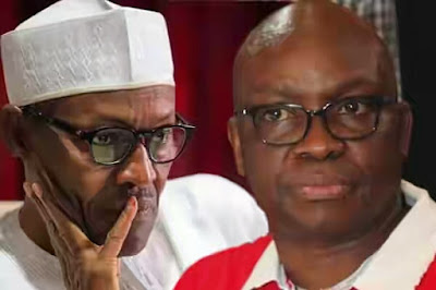 Presidency explains why Governor Ayodele Fayose was not allowed to visit President Buhari in London